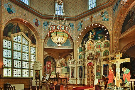 Interior, Holy Trinity Orthodox Cathedral
