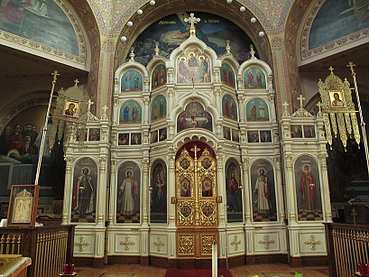 Iconostasis at Holy Trinity Cathedral