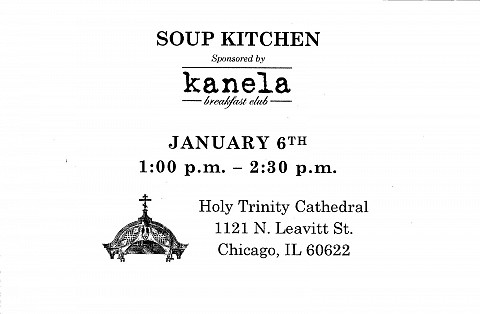 Holy Trinity Cathedral - Soup Kitchen